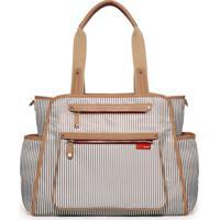 Bolsa Maternidade (Diaper Bag) Grand Central - French Stripe Skip Hop