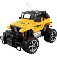 Carrinho De Controle Remoto Super Journey - 7 Funções - Unissex-Amarelo+Preto
