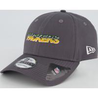 Boné New Era Nfl Green Bay Packers 940 Chumbo