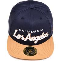 Boné Other Culture Snapback Los Angeles Run Azul/Bege