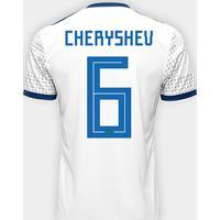 ad76ef0baa Netshoes  Camisa Seleção Rússia Away 2018 Nº 6 Cheryshev - Torcedor Adidas  Masculina - Masculino