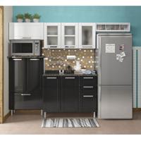 Cozinha Compacta Multipla 10 Pt 2 Gv Branco E Preto