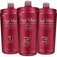 Escova Progressiva Agi Max 3X1000Ml - Kanui