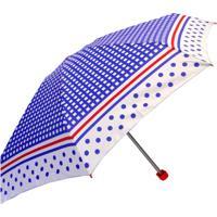 Guarda-Chuva Fazzoletti Mini Mini Resistente Ao Vento Xadrez Azul