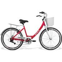 Bicicleta Feminina Gts M1 Ks Retrô Aro 26 Câmbio Shimano 7 Marchas Freio V-Brake - Unissex