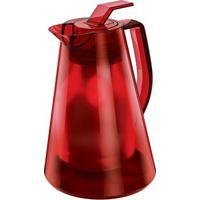 Bule Tã©Rmico Milan Translucido- Inox & Vermelho- 500Euro Homeware