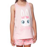 Pijama Bailarina - Rosa Claro & Cinzapuket