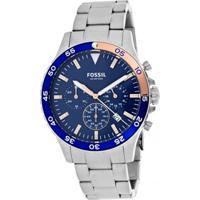 Relógio Fossil - Ch3059 - Masculino-Prata