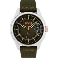 Relógio Hugo Boss Masculino Nylon Verde - 1550016