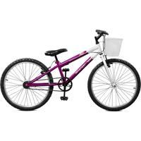 Bicicleta Master Bike Aro 24 Feminina Serena Roxo