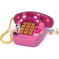 Telefone Sonoro Elka Disney Minnie - Feminino-Pink