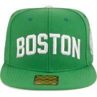 e7aa0b9d31 Netshoes  Boné Aba Reta Young Money Snapback Boston - Unissex