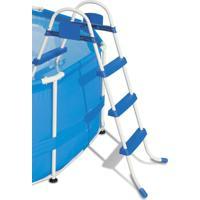 Escada Bel Fix Life 3 Degraus Premium Azul