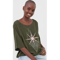 Blusa Dress To Estrela Verde - Kanui