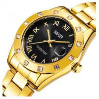 Relógio Feminino Oubaoer 6092L - Dourado E Preto