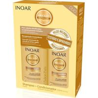 Inoar Kit Duo Shampoo 250Ml + Condicionador 250Ml Daymoist - Feminino-Incolor