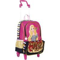 Mochilete Média Barbie 19Z - Feminino