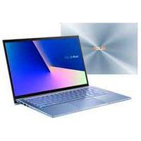"""Notebook Asus Zenbook 14, Intel Core I7 10510U, 8 Gb, 256 Gb Ssd, Tela De 14"""", Azul Claro Metálico - Ux431Fa-An203T"""