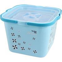 Caixa Organizadora Com 2 Peças Jacki Design Organizadores Azul