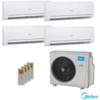 Ar Condicionado Multisplit Inverter Springer Midea Com 1 X 9.000 Btus + 2 X 12.000 Btus + 1 X 18.000 Btus, Quente E Frio