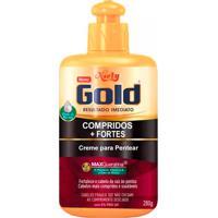 Creme De Pentear Niely Gold Compridos + Fortes 280G
