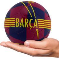 Minibola De Futebol De Campo Barcelona Skills Nike - Azul/Ouro