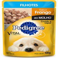 Ração Pedigree Sachê Frango Junior 100G