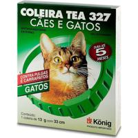 Black Friday - 20% Off- Coleira Tea 327 Para Gatos - 13Cm