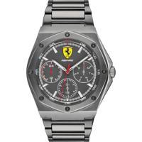 Relógio Scuderia Ferrari Masculino Aço Cinza - 830695