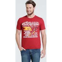 Camiseta Masculina Estampa Flash Liga Da Justiça