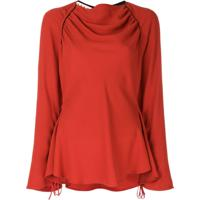 Marni Blusa Com Franzido - Vermelho