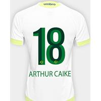 Camisa Chapecoense Ii 17 18 N° 18 Arthur Caike Torcedor Umbro Masculina -  Masculino fdc17e8093cf7