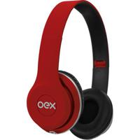 Headset Style- Vermelho- 26X12X6Cm- P2- Newenewex