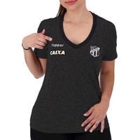 Camisa Topper Ceará Oficial Concentração 2018 Fem - Feminino