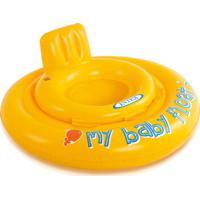 Boia Baby Bote Conforto (Assento Fralda) Amarela 56585 Intex