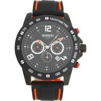 Relógio Speedo 24852Gpevpu1 Preto/Laranja