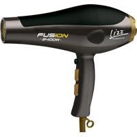 Secador Fusion Profissional- Preto & Dourado- 23X25Xlizz