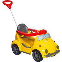 Carrinho De Passeio Infantil Calesita 1300 Fouks Com Pedal Amarelo