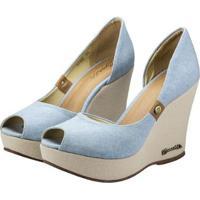 Sapato Barth Shoes Noite - Feminino-Azul Claro
