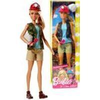Boneca Barbie Profissões Quero Ser Paleontóloga Arqueóloga Com Acessórios - Mattel