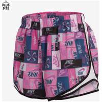Plus Size - Shorts Nike Tempo 3 Feminino