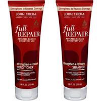 Kit Shampoo + Condicionador John Frieda Full Repair Strengthen+Restore Kit - Unissex-Incolor