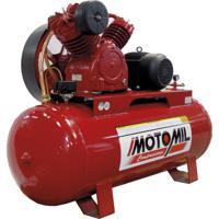 Compressor De Ar 7.5Hp 250Lts Trifásico 380/660V Gav30/250 Motomil