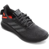 Tênis Adidas Sensebounce Street Masculino - Masculino-Preto+Laranja