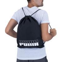 Gym Sack Puma Plus Ii - Preto