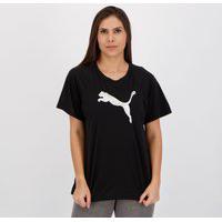 Camiseta Puma Evostripe One Feminina Preta