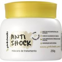 Máscara De Tratamento Pinkcheeks Anti Shock Reconstrutora 250G - Feminino