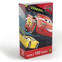Quebra-Cabeça - Carros 3 - 150 Peças - Disney - Grow - Unissex-Incolor