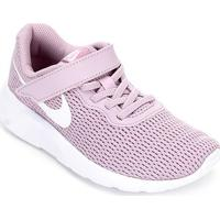 Tênis Infantil Nike Tanjun Velcro Masculino - Masculino-Lilás+Branco