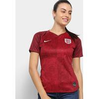 Camisa Seleção Inglaterra Away 19/20 S/Nº Torcedora Nike Feminina - Feminino